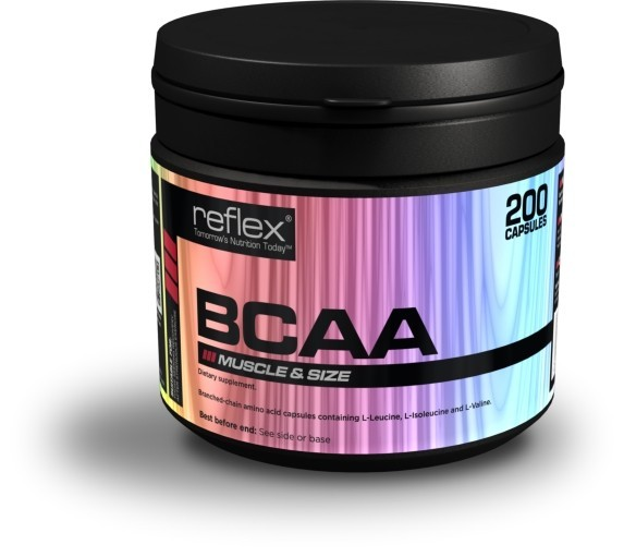 Reflex Nutrition BCAA 200 kapslí