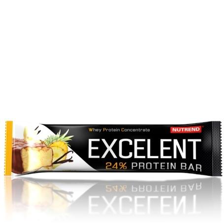 Nutrend 24% EXCELENT PROTEIN BAR 85g čokoládová s oříšky