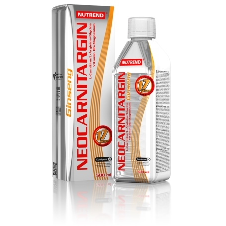 Nutrend NEOCARNITARGIN s ženšenem 500 ml.