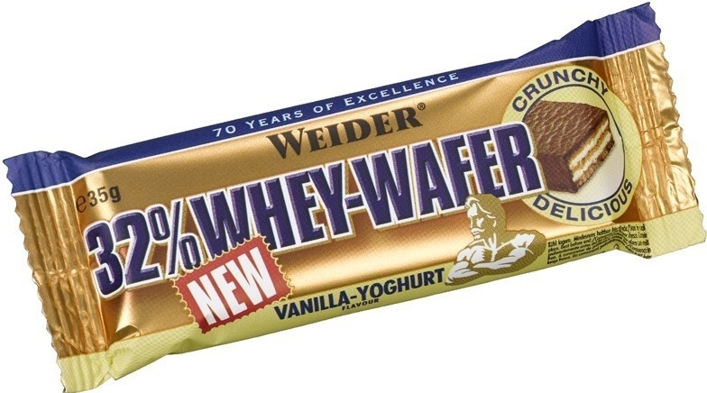 Weider 32% Whey Wafer 35g lískový oříšek