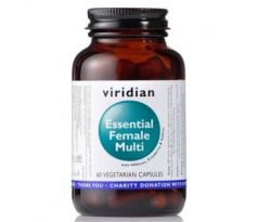 VIRIDIAN nutrition Essential Female Multi 60 kapslí