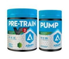 Adapt Nutrition Hardcore Set (Pre-Train V2 330g+Pump 80 cps)