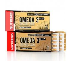 Nutrend Omega 3 Plus Softgel Caps 120kapslí