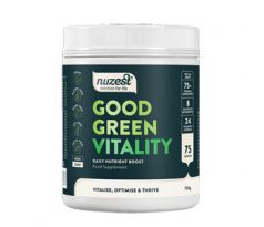 Nuzest Good Green Vitality  750 g + Šejkr Smart 350 ml. ZDARMA